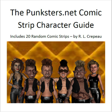 punksters comic strip character guide