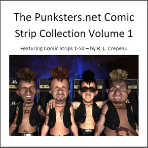 Punksters Punk Rock Comic strip collection volume 1