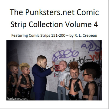 punksters comic strip collection volume 4