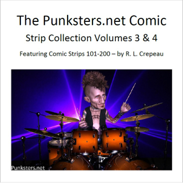 punksters comic strip colection volumes 3 and 4