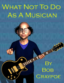 what not to do as a musician kindle e-book