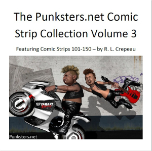 punksters comic strip collection volume 3